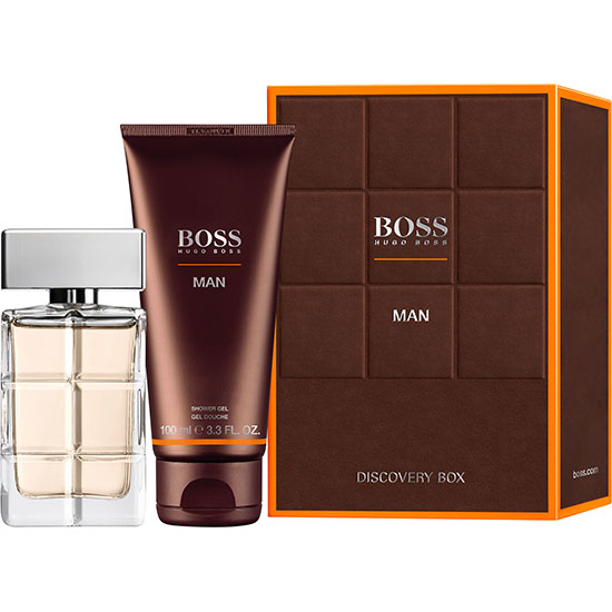 Hugo Boss Orange Man Eau De Toilette Gift Set 40ml