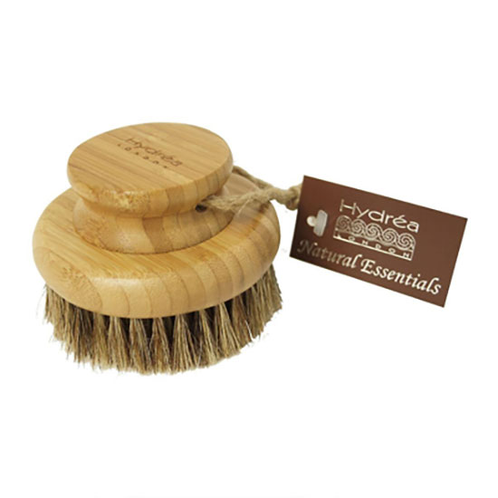 Hydréa London Bamboo Round Body Brush With Mane & Cactus Bristle