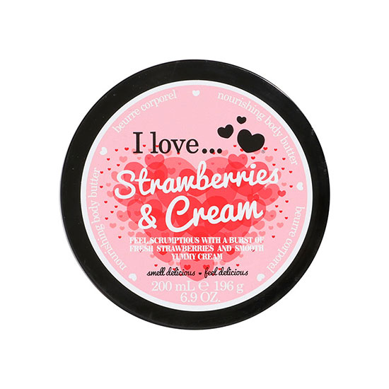 I Love Strawberries & Cream Body Butter 200ml