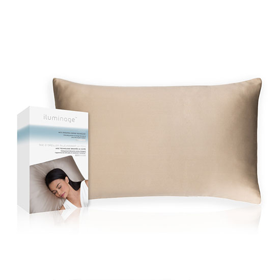 iluminage Skin Rejuvenating Pillow Case with Copper Oxide
