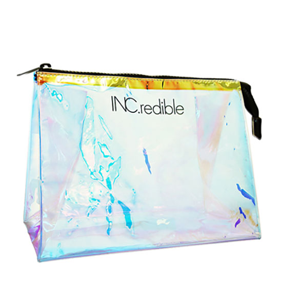 INC. redible Holographic Cosmetic Bag