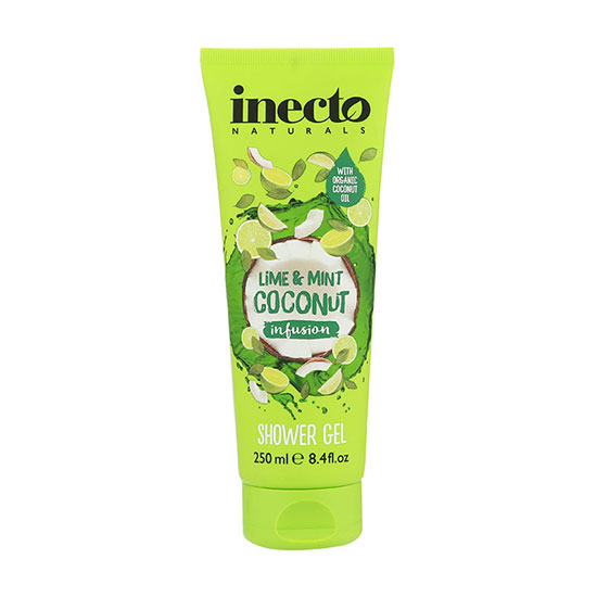Inecto Lime & Mint Coconut Infusion Shower Gel 250ml
