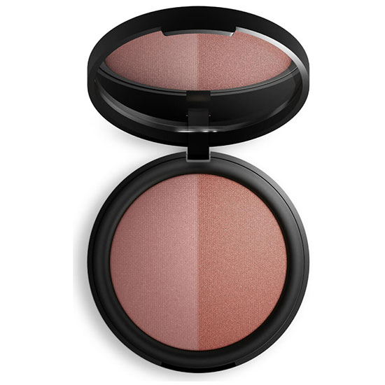 Inika Mineral Baked Blush Duo Burnt Peach