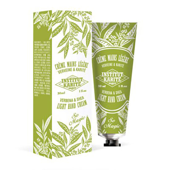 Institut Karité Verbena & Shaea Light Hand Cream 30ml