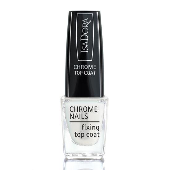 Ciate London Chrome Nail Polish: IsaDora Chrome Nails Fixing Top Coat