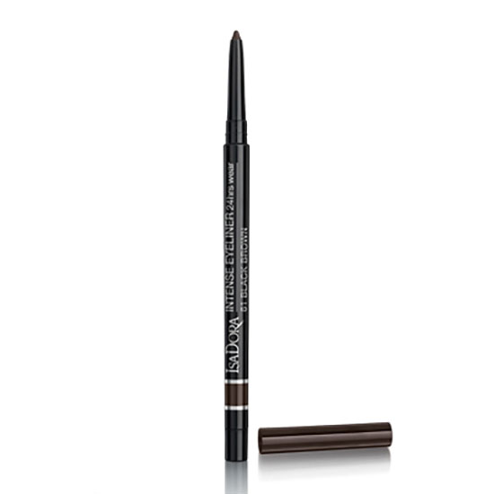 IsaDora Intense Eyeliner 24hr Wear 61-Black Brown