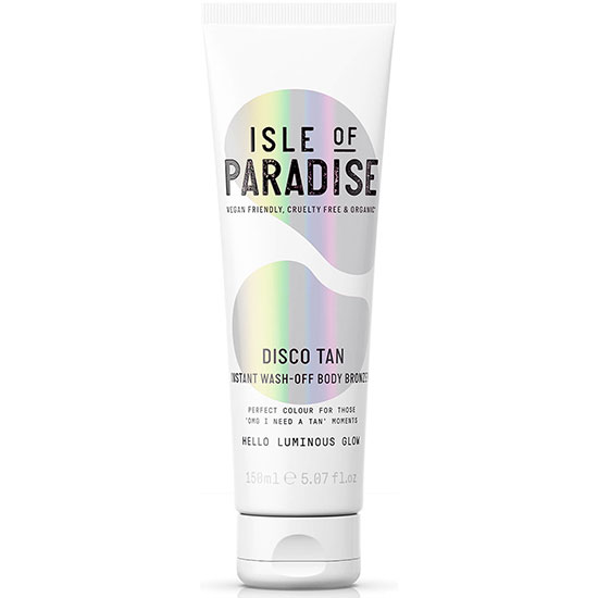 Isle of Paradise Disco Tan Instant Tan Wash off Body Bronzer