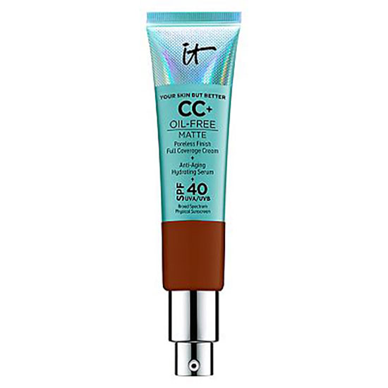 IT Cosmetics Your Skin But Better CC+ Oil-Free Matte With SPF40 Deep
