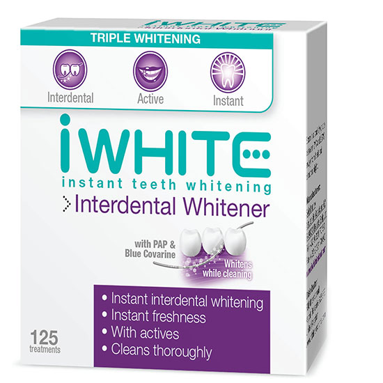 iWhite Instant Interdental Whitener 125 Treatments