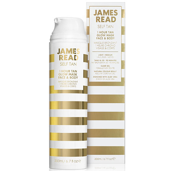 James Read Tan 1 Hour Glow Face & Body Mask