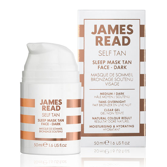 James Read Sleep Mask Tan Face – Dark