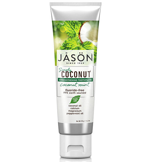 JASON Strengthening Coconut Mint Toothpaste