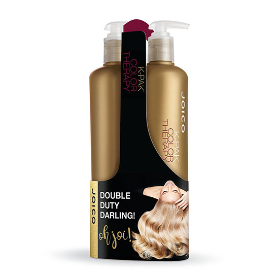 f90edcc9df1 Joico K-Pak Color Therapy Shampoo & Conditioner 500ml Duo | Cosmetify