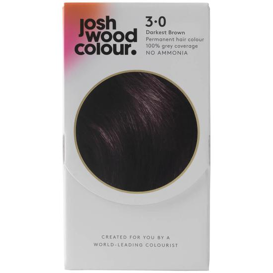 Josh Wood Colour Permanent Colour Kit Darkest Brown - 3