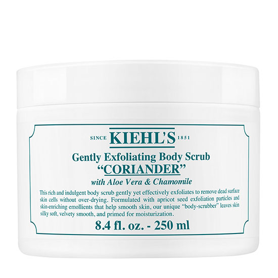 Kiehl's Coriander Gently Exfoliating Body Scrub 250ml