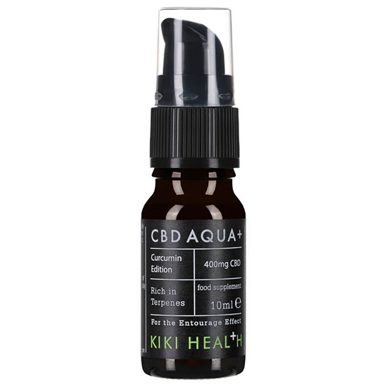KIKI Health CBD Aqua + with Additional Curcumin
