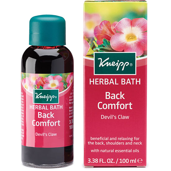 Kneipp Back Comfort Herbal Devil's Claw Bath Oil