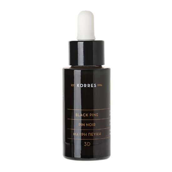 Korres Natural 3d Black Pine Firming & Lifting Active Oil