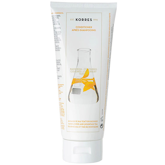 Korres Natural Sunflower & Mountain Tea Conditioner For Coloured Hair