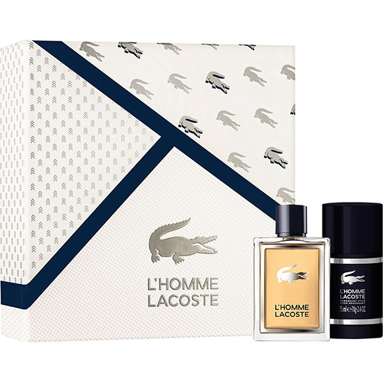 Lacoste L'Homme Eau De Toilette Spray Gift Set 50ml