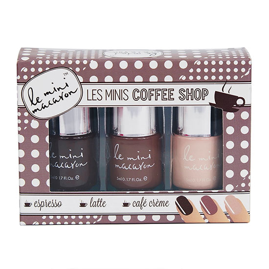 Le Mini Macaron Les Minis Coffee Shop Gel Polish Trio