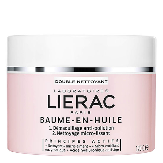 Lierac Double Nettoyant Double Cleanser Balm In Oil