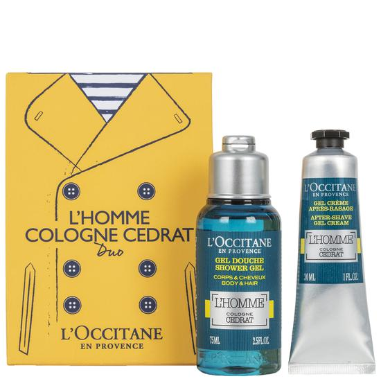L'Occitane Gifts L'Homme Cologne Cedrat Duo