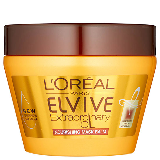 L'Oreal Elvive Extraordinary Oil Hair Mask Pot For Dry Hair