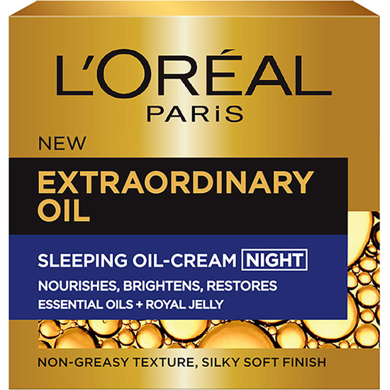 L'Oreal Paris Extraordinary Oil Sleeping Oil Night Cream
