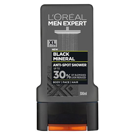 L'Oréal Paris Men Expert Black Mineral Anti-Spot Shower Gel 300ml