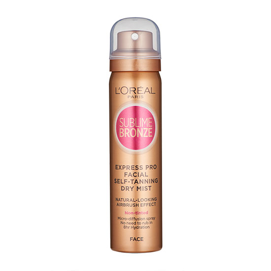 L'Oreal Paris Sublime Bronze Self Tanning Dry Mist for Face
