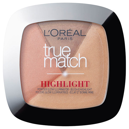 L'Oreal Paris True Match Powder Glow Illuminating Highlighter Glow Golden Glow