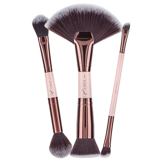 Luxie Jadeywadey 180 Glam Sculpting Duo Brush Set