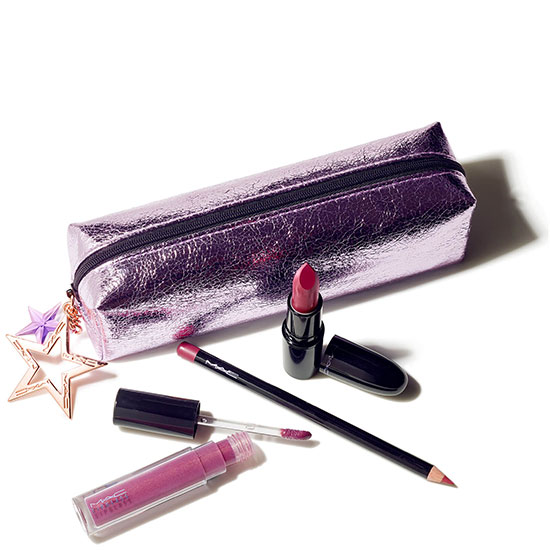 MAC Starlit Lip Bag Berry