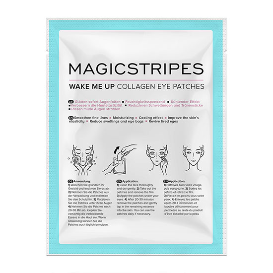Magicstripes Wake Me Up Collagen Eye Patches x 5
