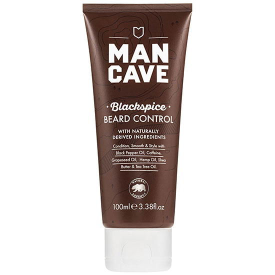 ManCave Natural Blackspice Beard Control