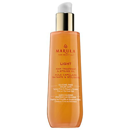 Marula Pure Beauty Oil Light Hair Treatment and Styling Oil