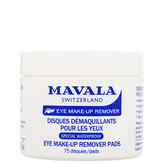 Mavala Eye Care Eye Makeup Remover Pads 75 Pcs