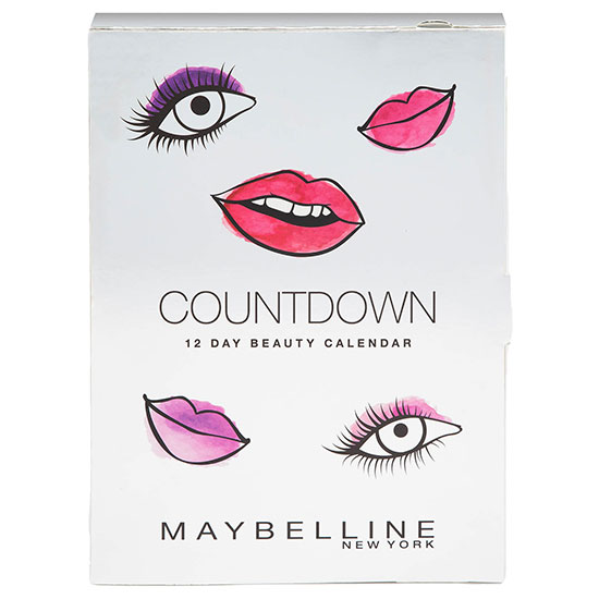 Maybelline Countdown Advent Calendar