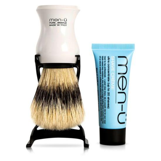 Men U Barbiere Shave Brush Stand Black Cosmetify