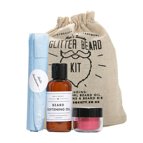 Men's Society Glitter Beard Kit