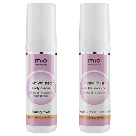 Mio Skincare Get Waisted & Shrink To Fit Travel Size Bundle
