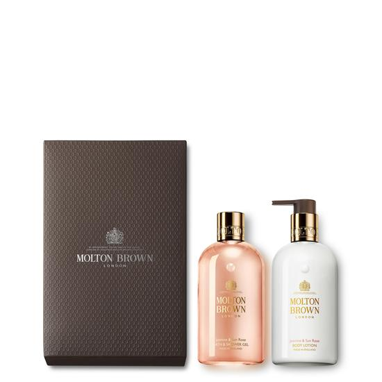Molton Brown Jasmine & Sun Rose Shower Gel & Lotion Gift Set