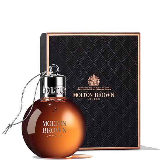 Molton Brown Re Charge Black Pepper Festive Bauble