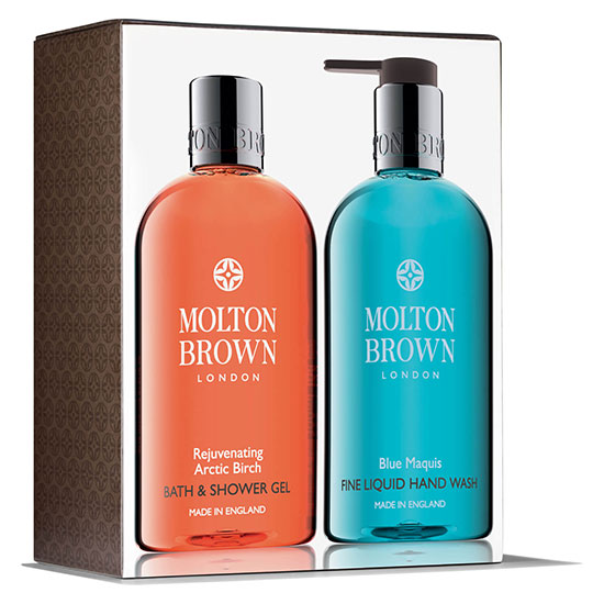 Molton Brown Rejuvenating Arctic Birch & Blue Maquis Hand & Body Set
