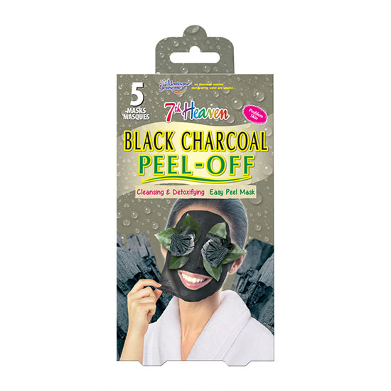 Montagne Jeunesse 7th Heaven Charcoal Peel Off Mask Pack x 5