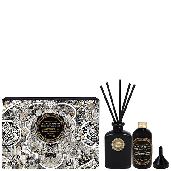 MOR Snow Gardenia Home Diffuser Kit
