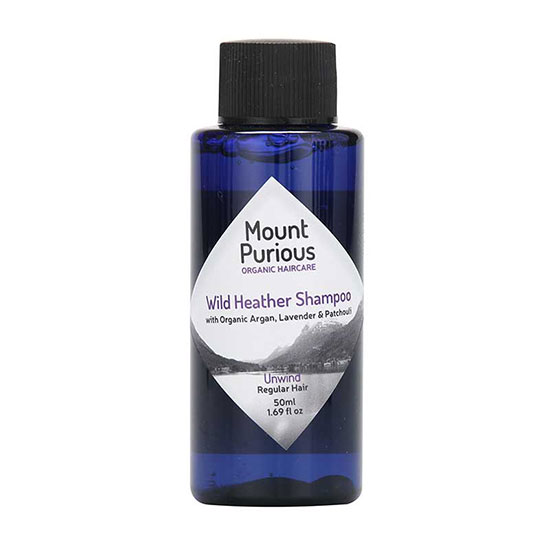 Mount Purious Organic Wild Heather Shampoo 50ml
