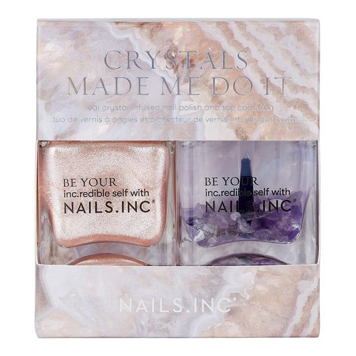 Nails Inc Crystals Made Me Do It Nail Polish Duo 14ml