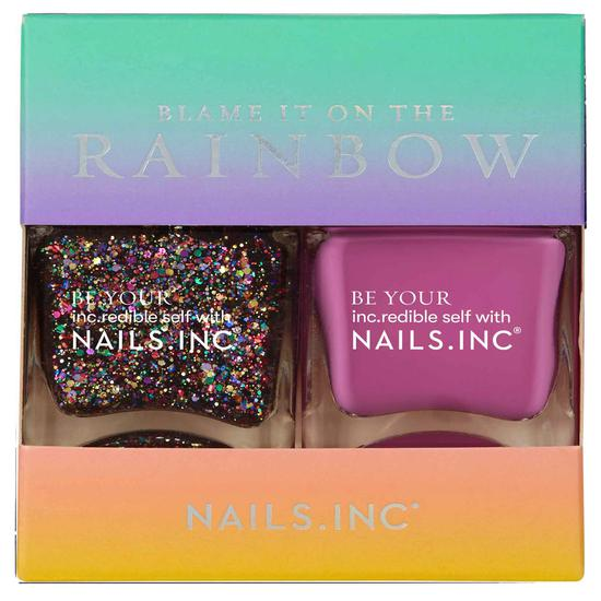 Nails Inc My Favourite Colour Is Rainbow Nail Varnish Duo